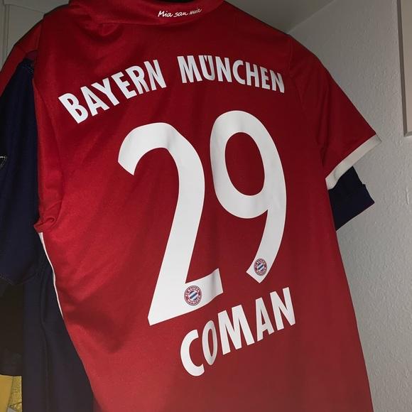 best sneakers a8e46 e4e06 Bayern Munchen Coman Jersey